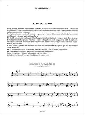 Mariani: La Tromba Jazz. Metodo Progressivo Per Sviluppare: Trumpet, Cornet or Flugelhorn
