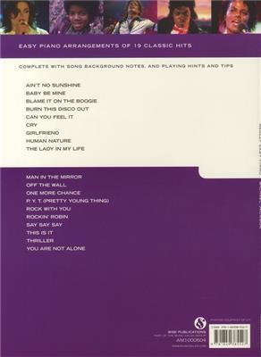 Michael Jackson: Really Easy Piano: Michael Jackson: Arr. (Barrie Carson Turner): Easy Piano