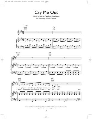 Play Piano With: Lady Gaga, Adele, Alicia Keys etc: Piano, Vocal, Guitar