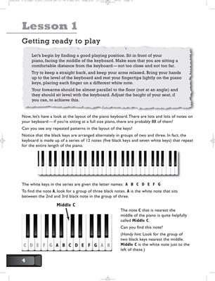 Easiest 5-Finger Piano Course: Easy Piano