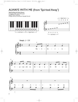 Easiest 5-Finger Piano Collection: Animated Film: Arr. (Christopher Hussey): Easy Piano