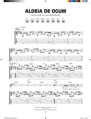 Antology of Bossa Nova Guitar: Arr. (Matt Cowe): Guitar TAB