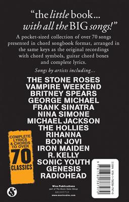 The Little Black Songbook: All-Time Smash Hits: Guitar, Chords and Lyrics