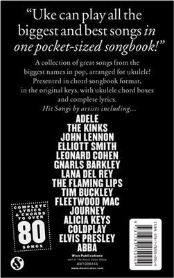 The Little Black Songbook: Hit Songs For Ukulele: Ukulele