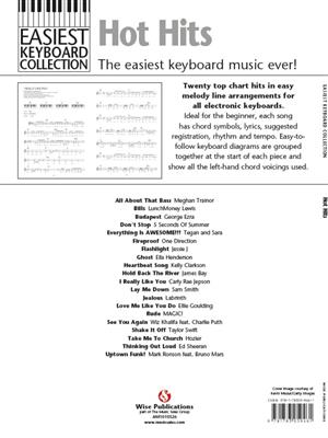 Easiest Keyboard Collection: Hot Hits: Electric Keyboard