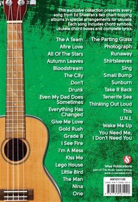 Ed Sheeran: Ukulele Chord Songbook: Ukulele