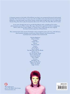 David Bowie: David Bowie: 1947-2016: Piano, Vocal, Guitar