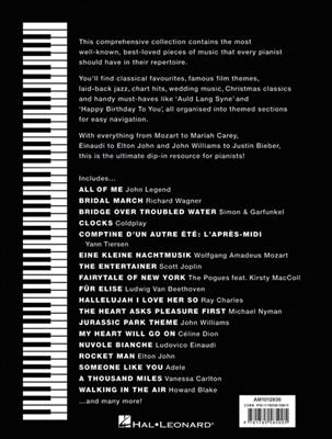 The Big Black Piano Songbook: Piano or Keyboard