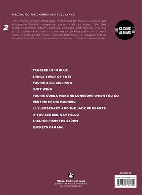 Bob Dylan: Blood On The Tracks - Bob Dylan: Piano, Vocal and Guitar (songbooks)