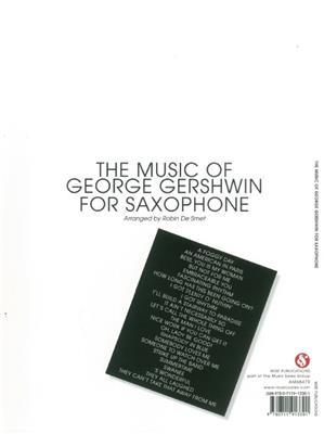 George Gershwin: The Music Of George Gershwin For Saxophone: Saxophone