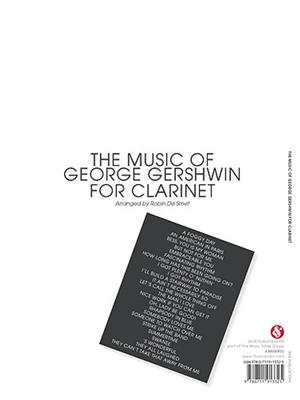 George Gershwin: The Music Of George Gershwin For Clarinet: Arr. (Robin de  Smet): Clarinet