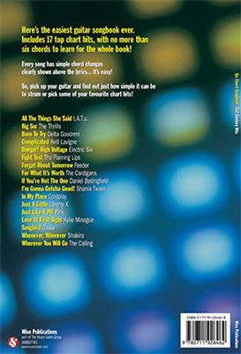 Six Chord Songbook: 21st Century Hits: Arr. (James Dean): Melody, Lyrics & Chords