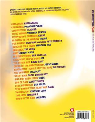 21st Century Rock: Arr. (Derek Jones): Piano, Vocal, Guitar