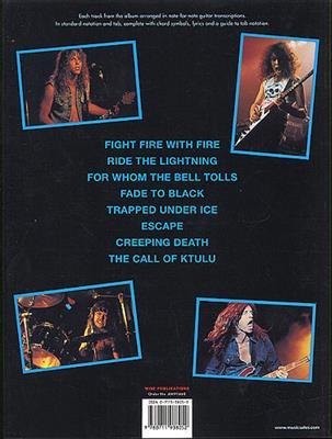 Metallica: Ride The Lightning: Guitar TAB