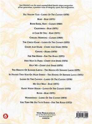 Joni Mitchell: The Very Best Of Joni Mitchell: Piano, Vocal, Guitar
