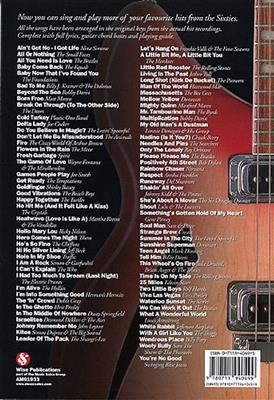 The Big Guitar Chord Songbook: More Sixties Hits: Guitar, Chords and Lyrics
