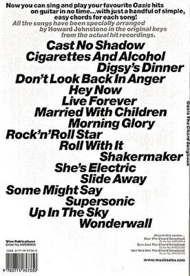 Noel Gallagher: The Chord Songbook: Arr. (Howard Johnstone): Vocal