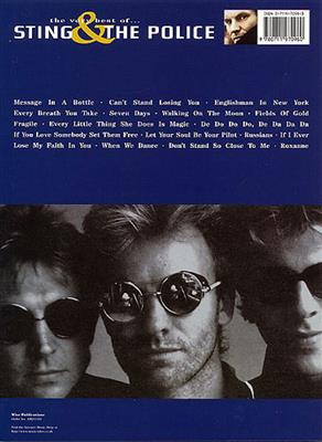 The Police: The Very Best Of Sting And The Police: Piano, Vocal, Guitar