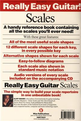 Cliff Douse: Really Easy Guitar! Scales: Guitar or Lute