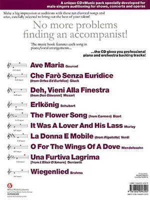 Audition Songs Male Classical: Arr. (Derek Jones): Piano, Vocal, Guitar