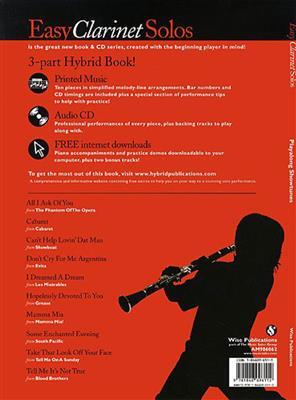 Playalong Showtunes - Easy Clarinet Solos: Clarinet