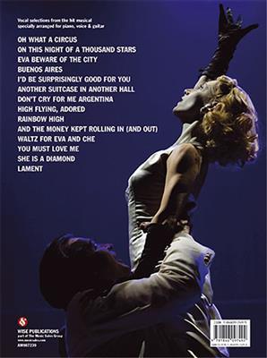 Andrew Lloyd Webber: Evita: Piano, Vocal, Guitar