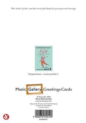 Music Gallery: Congratulations Card-Grade 3 (Boy)
