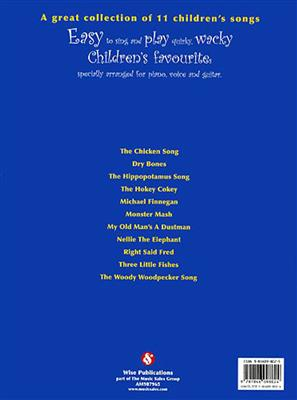 Quirky Wacky Children's Songs: Piano, Vocal, Guitar
