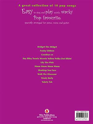 Quirky Wacky Pop Songs: Piano, Vocal, Guitar