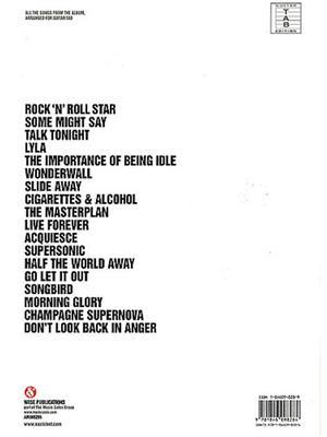 Oasis: Stop The Clocks: Guitar TAB