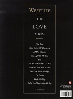 Westlife: Westlife: The Love Album: Piano, Vocal, Guitar