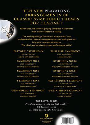 Bravo! Playalong Symphonic Themes: Clarinet