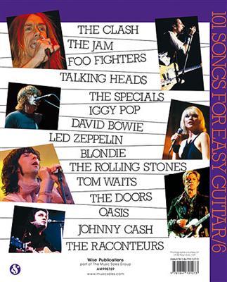 101 Songs For Easy Guitar - Book 6: Guitar