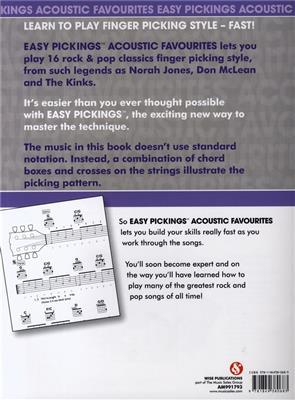 Easy Pickings Acoustic Favorites