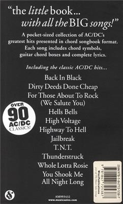 AC/DC: The Little Black Songbook: AC/DC