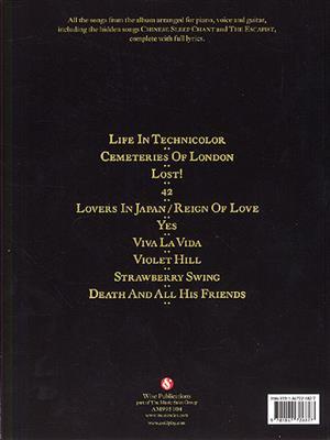 Coldplay: Viva La Vida or Death And All His Friends : Arr. (Derek Jones): Piano, Vocal, Guitar