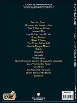 ABBA: ABBA Gold: Flute Playalong: Flute