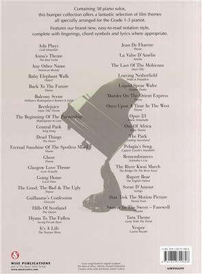 Great Piano Solos - The Film Book Easy Piano Ed.: Piano