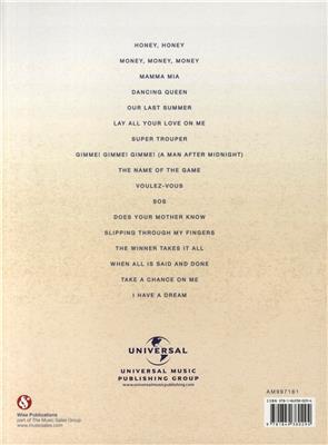 ABBA: Mamma Mia! - The Movie Soundtrack: Piano, Vocal, Guitar