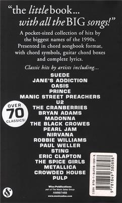 The Little Black Songbook: 90s Greatest Hits: Melody, Lyrics & Chords