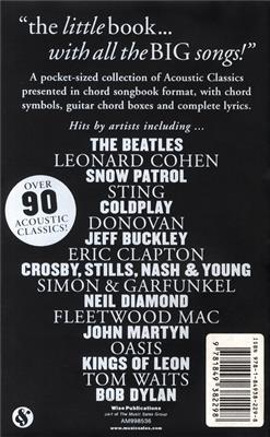 The Little Black Songbook: Acoustic Classics: Vocal