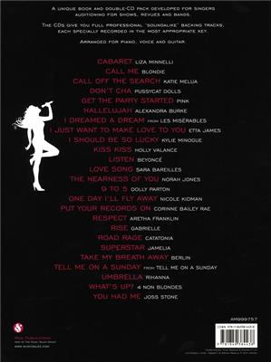 The Big Book Of Audition Songs More Hits Female Ed: Piano, Vocal, Guitar