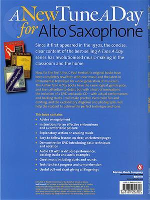 A New Tune A Day: Alto Saxophone - Book 1