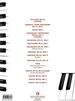 Frédéric Chopin: Beginning Chopin For Piano: Piano