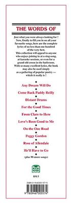 The Words Of 100 Irish Party Songs: Vocal