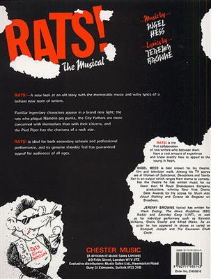 Nigel Hess: Rats! The Musical: Voice