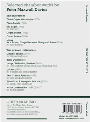 Peter Maxwell Davies: Naxos Quartet No.7: String Quartet
