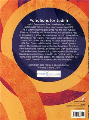 Variations For Judith: Piano