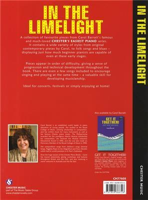 Carol Barratt: In The Limelight!: Piano