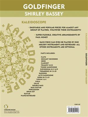 Shirley Bassey: Kaleidoscope: Goldfinger: Arr. (One Direction): Flexible Band